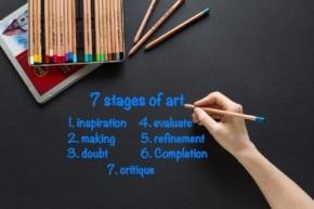 7 stages ofart