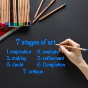 7 stages of art