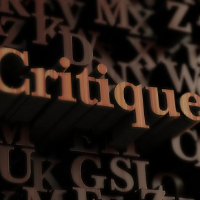 Critique vs criticism