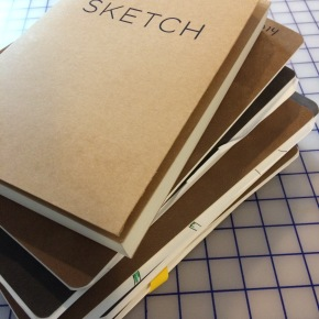 The artists sketchbook