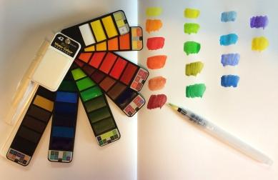 paints open