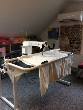 my longarm quilting adventures begin…